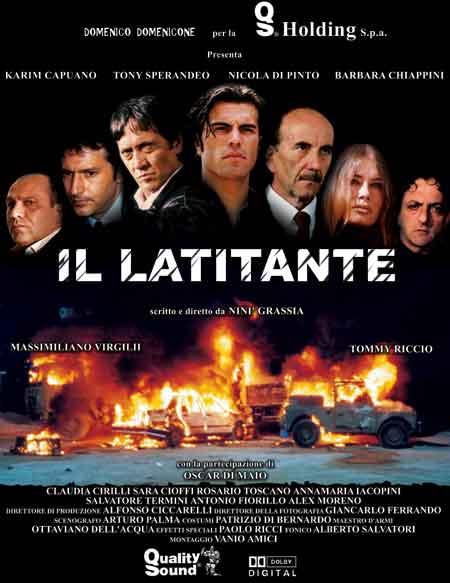 """""""Il Latitante"""" - locandina"""