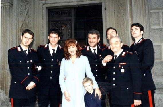 Stefania Sandrelli, Massimiliano Virgilii,Gabriele Corsi, Gigi Proietti, Paolo Gasparini, Ruben Rigillo